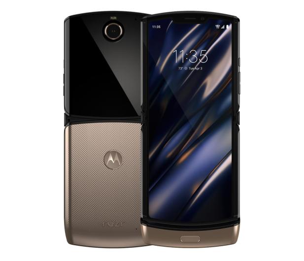 Motorola RAZR 6/128GB Blush Gold - 566074 - zdjęcie