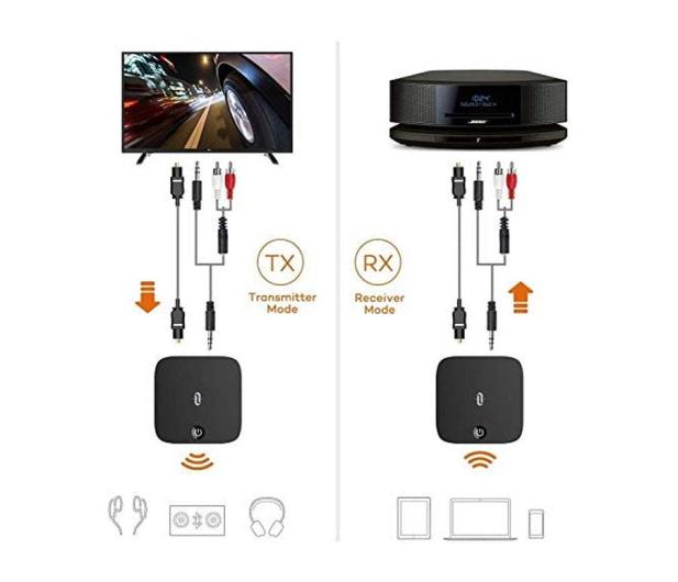 Taotronics TT-BA09 Bluetooth RX/TX - 581180 - zdjęcie 2