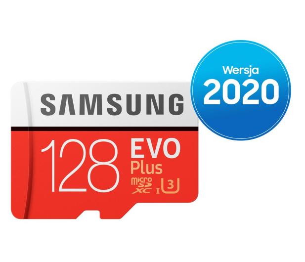 Samsung 128GB microSDXC Evo Plus zapis60MB/s odczyt100MB/s - 577325 - zdjęcie