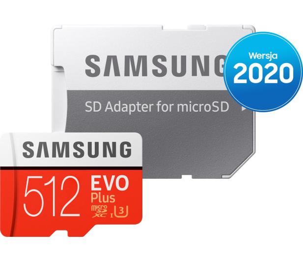 Samsung 512GB microSDXC Evo Plus zapis90MB/s odczyt100MB/s - 577329 - zdjęcie 4