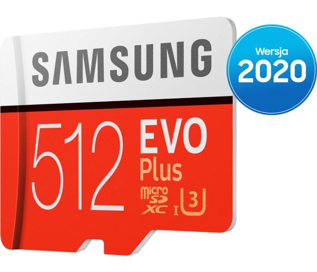 Samsung 512GB microSDXC Evo Plus zapis90MB/s odczyt100MB/s - 577329 - zdjęcie 3