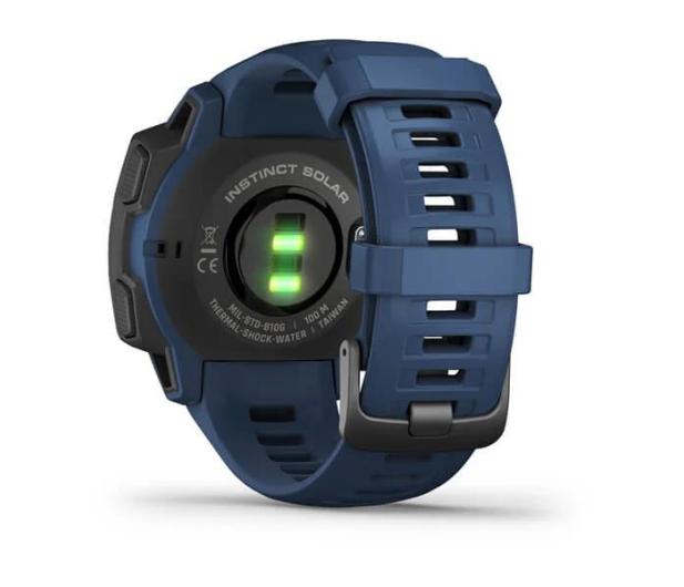 Garmin Instinct Solar niebieski - 578823 - zdjęcie 4