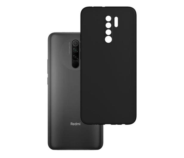 3mk Matt Case do Xiaomi Redmi 9 czarny - 580466 - zdjęcie