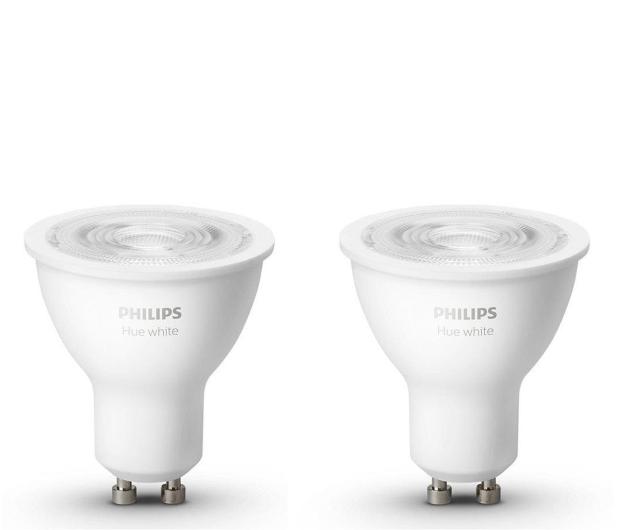 Philips Hue White (2szt. GU10 5,2W) - 583451 - zdjęcie