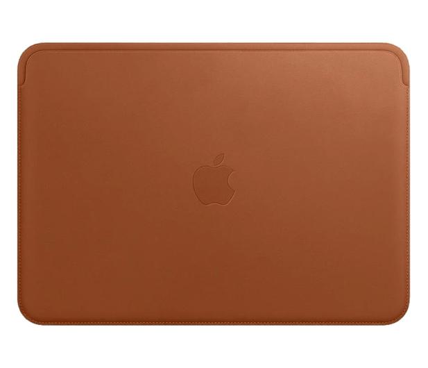 "Apple Skórzany futerał na MacBook Pro | Air 13"" brąz - 584249 - zdjęcie"