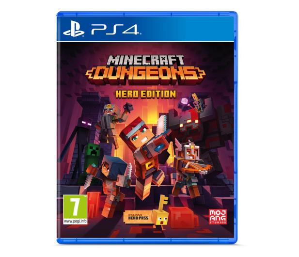 PlayStation Minecraft Dungeons - Hero Edition - 585735 - zdjęcie