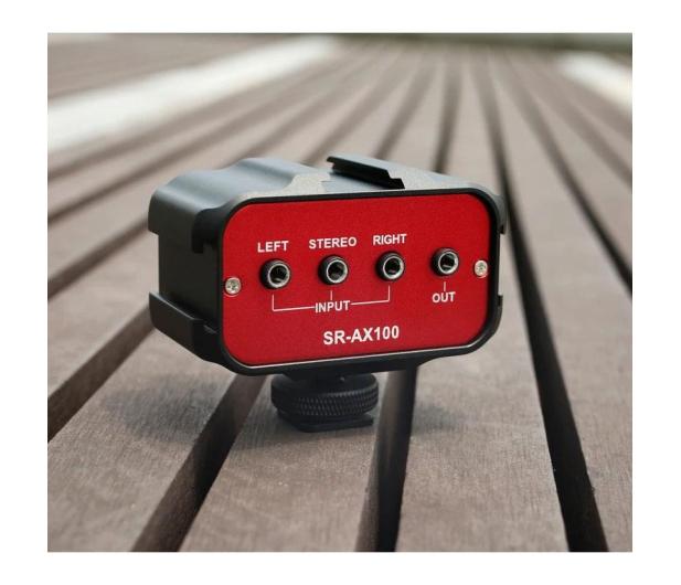Saramonic Adapter audio SR-AX100 - 584602 - zdjęcie 3