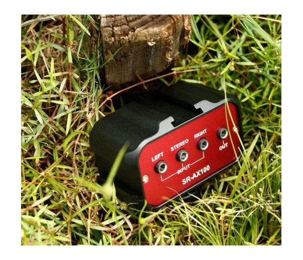 Saramonic Adapter audio SR-AX100 - 584602 - zdjęcie 4