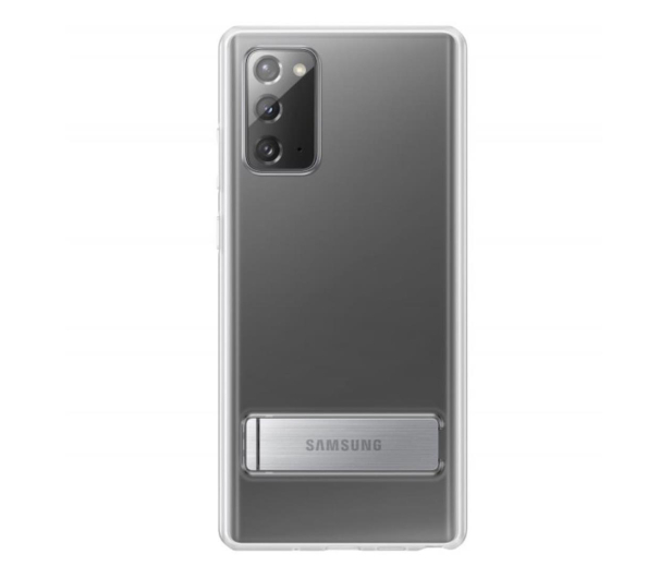 Samsung Clear Standing Cover do Galaxy Note 20   - 582466 - zdjęcie