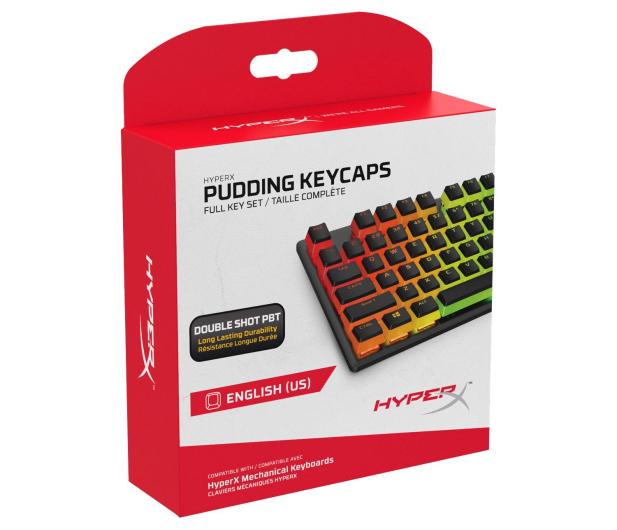 HyperX PBT Pudding Keycap Black - 586884 - zdjęcie 5