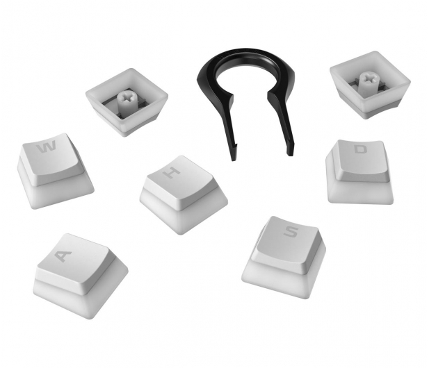 HyperX PBT Pudding Keycap White - 586885 - zdjęcie