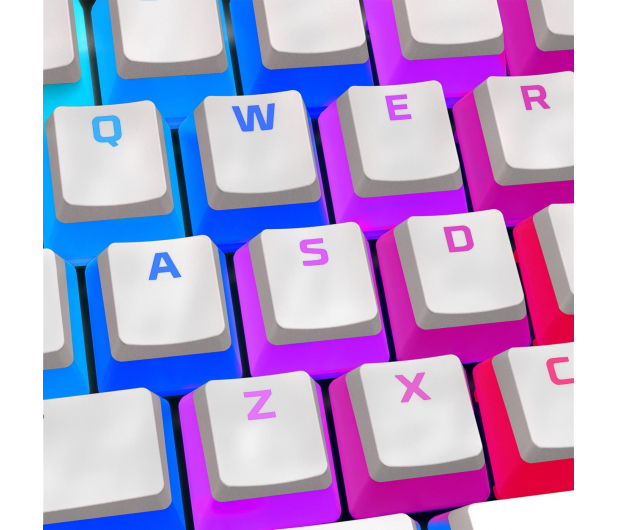 HyperX PBT Pudding Keycap White - 586885 - zdjęcie 2