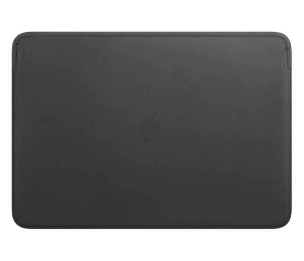 """Apple Skórzany futerał na MacBook Pro 16"""" czarny - 585284 - zdjęcie"""