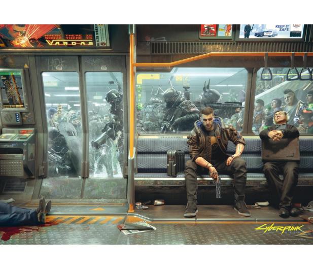 CENEGA Cyberpunk 2077: Metro puzzles 1000 - 586038 - zdjęcie 2