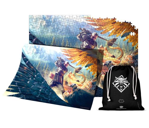 CENEGA The Witcher (Wiedźmin): Griffin Fight puzzles 1000 - 586044 - zdjęcie 3