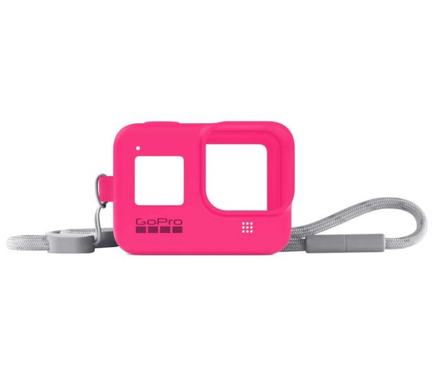GoPro Silikonowe Etui do HERO8 Black różowe - 542365 - zdjęcie 2