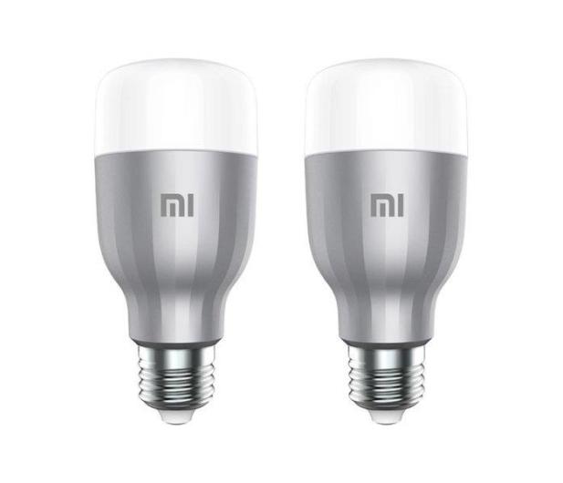 Xiaomi Mi Smart LED Bulb RGB 2 sztuki (E27/800lm) - 587739 - zdjęcie 2