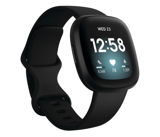 Fitbit Versa 3 czarna + Fitbit Premium - 587718 - zdjęcie