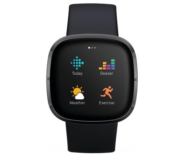 Fitbit Sense czarny + Fitbit Premium - 587725 - zdjęcie 5