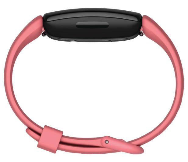 Fitbit Inspire 2 czarno różowy + Fitbit Premium - 587724 - zdjęcie 4