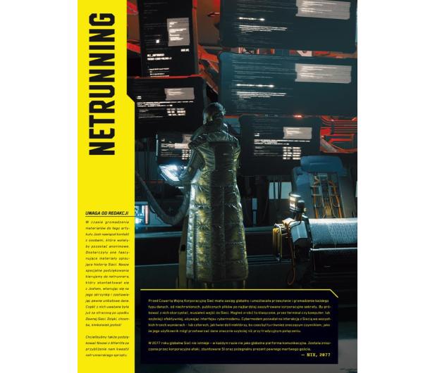 CENEGA Oficjalna książka o świecie gry Cyberpunk 2077 - 572397 - zdjęcie 6