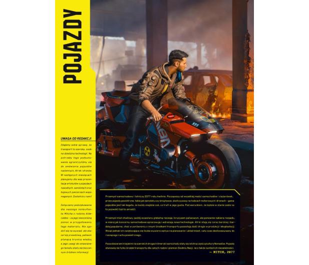 CENEGA Oficjalna książka o świecie gry Cyberpunk 2077 - 572397 - zdjęcie 7