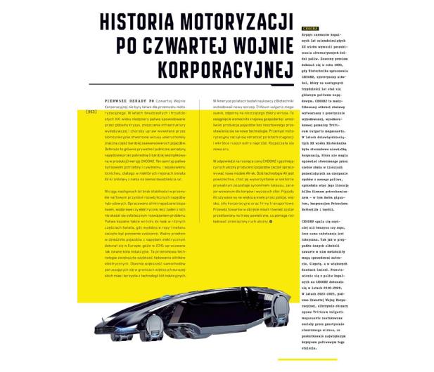 CENEGA Oficjalna książka o świecie gry Cyberpunk 2077 - 572397 - zdjęcie 5