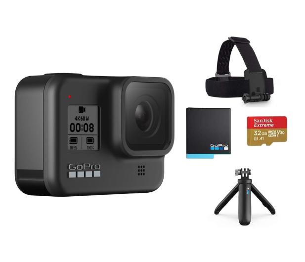 GoPro HERO8 Black + Akcesoria  - 586480 - zdjęcie