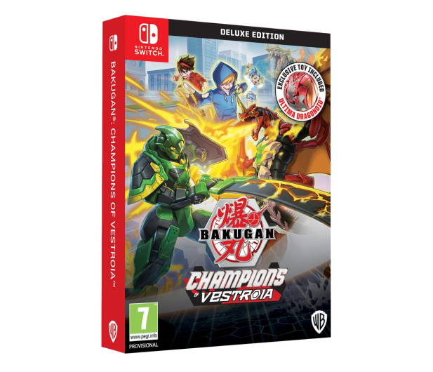 Switch Bakugan: Champions of Vestroia Toy Edition - 586688 - zdjęcie