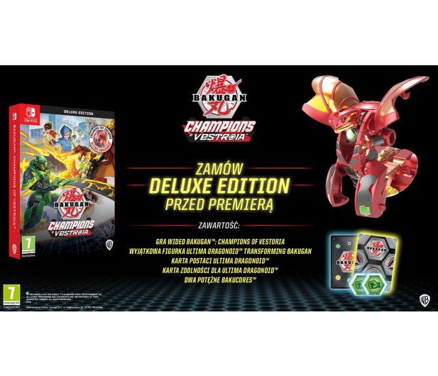 Switch Bakugan: Champions of Vestroia Toy Edition - 586688 - zdjęcie 2