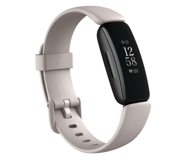 Fitbit Inspire 2 czarno biała + Fitbit Premium - 587723 - zdjęcie