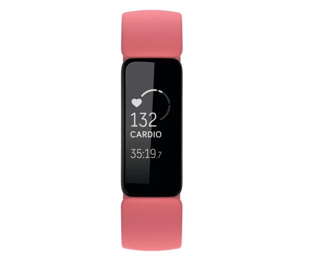 Fitbit Inspire 2 czarno różowy + Fitbit Premium - 587724 - zdjęcie 2