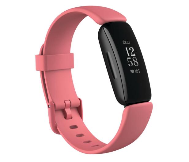 Fitbit Inspire 2 czarno różowy + Fitbit Premium - 587724 - zdjęcie