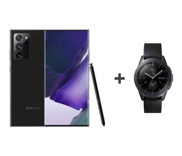 Samsung Galaxy Note 20 Ultra 5G Czarny + Galaxy Watch R810 - 588432 - zdjęcie