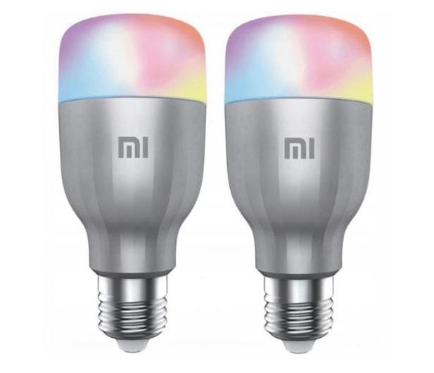 Xiaomi Mi Smart LED Bulb RGB 2 sztuki (E27/800lm) - 587739 - zdjęcie