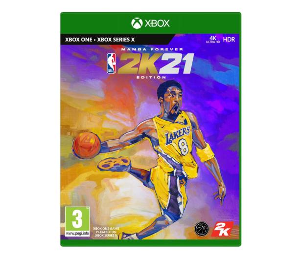 Xbox NBA 2K21 - Mamba Forever Edition - 578601 - zdjęcie