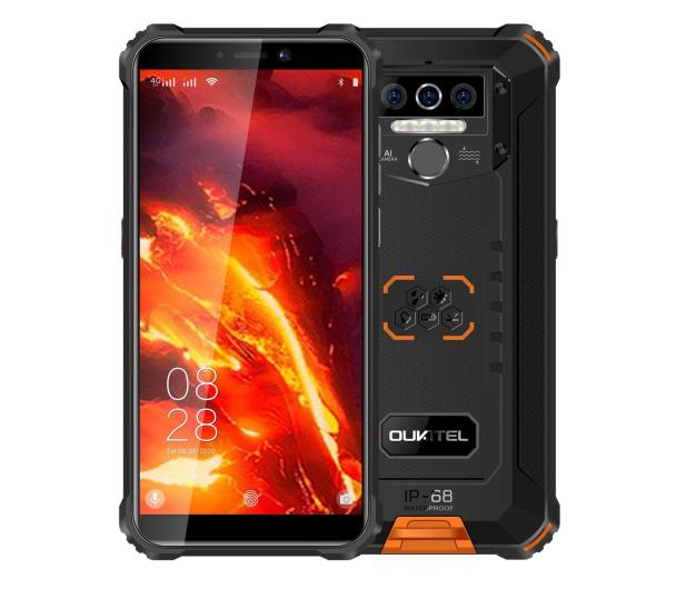 OUKITEL WP5 Pro 4/64GB 8000mAh pomarańczowy - 582465 - zdjęcie