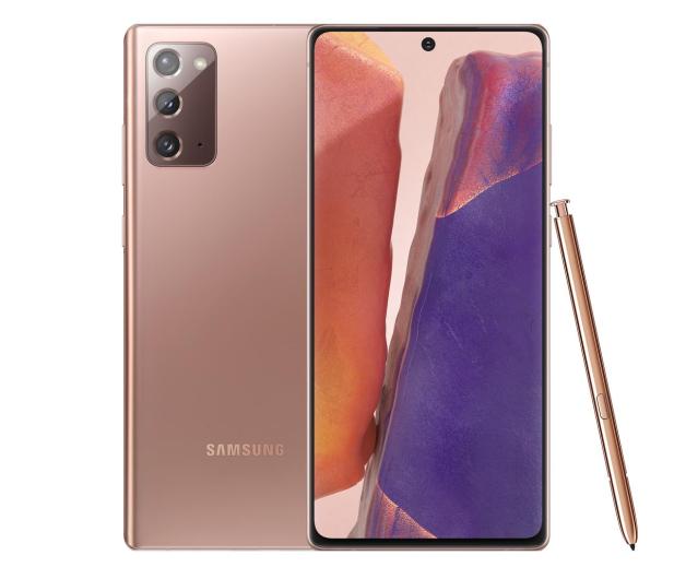 Samsung Galaxy Note 20 5G N981B Dual SIM 8/256 Miedziany - 580547 - zdjęcie