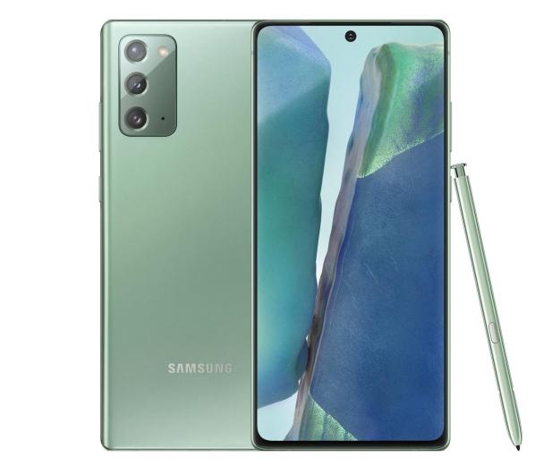 Samsung Galaxy Note 20 N980F Dual SIM 8/256 Zielony - 580535 - zdjęcie