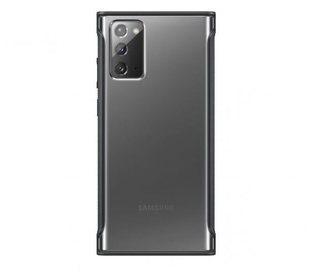 Samsung Clear Protective Cover do Galaxy Note 20 Black  - 582460 - zdjęcie