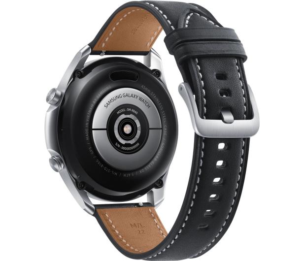 Samsung Galaxy Watch 3 R845 45mm LTE Mystic Silver - 581116 - zdjęcie 4