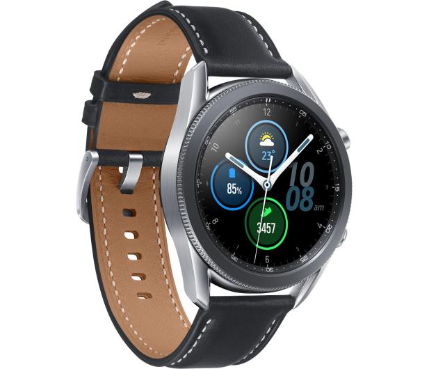 Samsung Galaxy Watch 3 R845 45mm LTE Mystic Silver - 581116 - zdjęcie 3