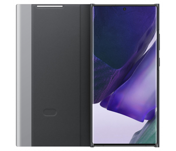 Samsung Clear view cover do Galaxy Note 20 ultra Black  - 582467 - zdjęcie 3