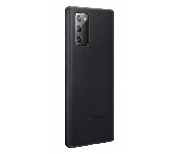 Samsung Leather Cover do Galaxy Note 20 Black  - 582459 - zdjęcie 2