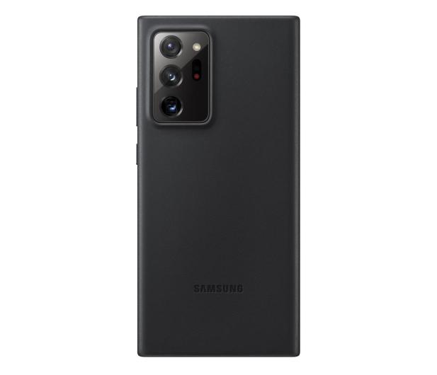Samsung Leather Cover do Galaxy Note 20 ultra Black  - 582474 - zdjęcie