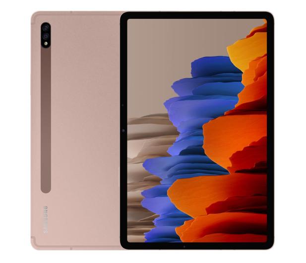 """Samsung Galaxy Tab S7 11"""" T870 WiFi 6/128GB miedziany - 582688 - zdjęcie"""