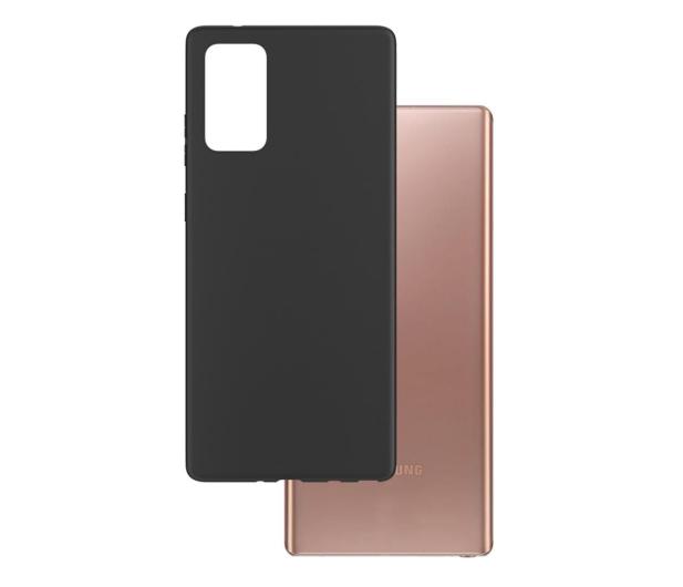 3mk Matt Case do Samsung Galaxy Note 20 czarny - 583622 - zdjęcie