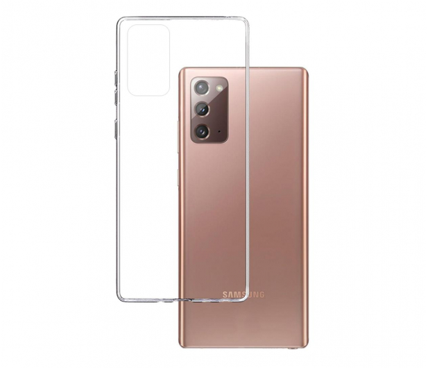 3mk Clear Case do Samsung Galaxy Note 20 - 583625 - zdjęcie