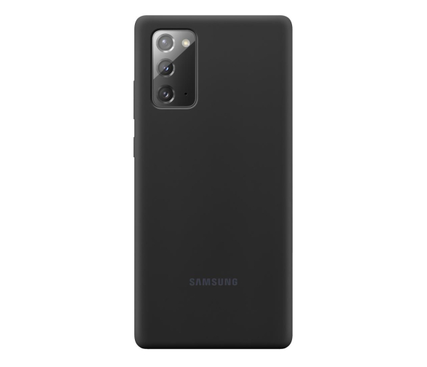 Samsung Silicone Cover do Galaxy Note 20 Black  - 582457 - zdjęcie