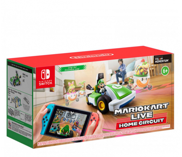 Switch Mario Kart Live Home Circuit - Luigi - 591042 - zdjęcie